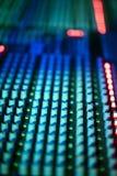 Muzyczny melanżeru wyćwiczenia dźwięk Fotografia Stock