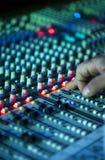 Muzyczny melanżeru wyćwiczenia dźwięk Obrazy Stock