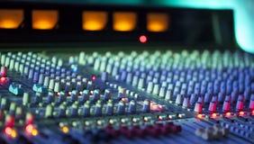 Muzyczny melanżeru wyćwiczenia dźwięk Obraz Stock