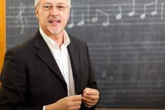 Muzyczny nauczyciel Obrazy Stock