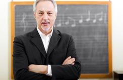 Muzyczny nauczyciel Fotografia Royalty Free