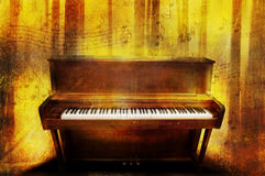 muzyczny pianino Obraz Royalty Free