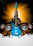 muzyczny plakat Zdjęcie Stock