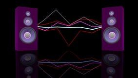 Muzyczny pojęcie Obraz Royalty Free