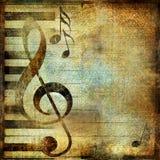 muzyczny rocznik Zdjęcia Royalty Free