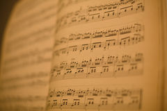 muzyczny stojak Obrazy Royalty Free