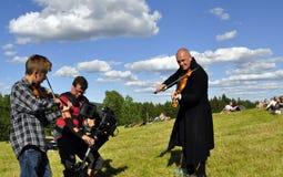 muzyczny Sweden Fotografia Royalty Free