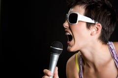 muzyczny target1051_0_ kobiety zdjęcie royalty free