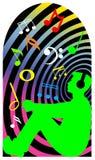muzyczny target1069_0_ Obraz Stock