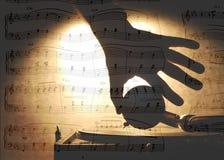 muzyczny temat zdjęcie stock