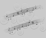 Muzyczny temat Zdjęcie Royalty Free
