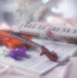 Muzyczny wizerunek Obrazy Royalty Free