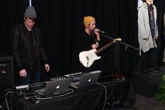 Muzyczny występ przy CWST prezentacją Fotografia Stock