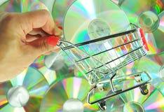 muzyczny zakupy Zdjęcia Stock