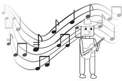 Muzyk Zdjęcia Stock