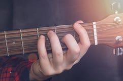 Muzyk Bawić się porozumienie zdjęcie stock