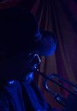 muzyk bluesowy Obrazy Royalty Free