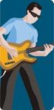 muzyk ilustracyjne serii Zdjęcia Royalty Free