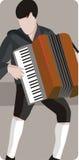 muzyk ilustracyjne serii Zdjęcia Stock