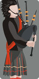 muzyk ilustracyjne serii ilustracja wektor