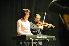 muzyk scena Zdjęcie Stock