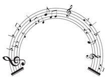muzyk uwagi royalty ilustracja