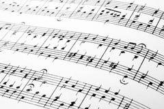 muzyk uwagi Zdjęcie Stock