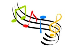 muzyk uwagi Obrazy Stock