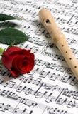 muzyka 1 rose obrazy stock