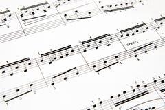 Muzyka obraz stock