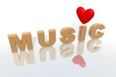 muzyka Zdjęcie Stock