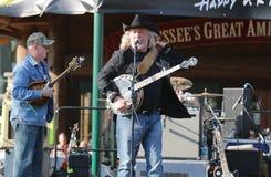 Muzyka Country Gwiazdowy John Anderson fotografia royalty free