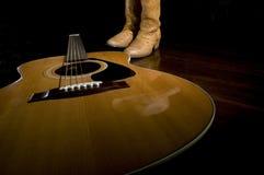 Muzyka Country ikony Zdjęcia Royalty Free