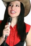 muzyka country piosenkarki western Obrazy Stock