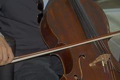 Muzyka klasyczna jest bawić się żywy Zdjęcie Stock