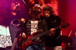 Muzyka koncert - Indygowy Fotografia Royalty Free