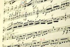 muzyka księgowa Obrazy Royalty Free