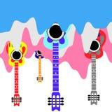Muzyka multicolor Zdjęcia Stock