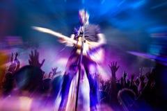 Muzyka na żywo i gitary gracz Jest istna duszy muzyki zawartość Obraz Stock