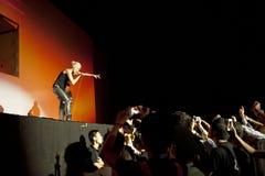 Muzyka na żywo koncert Zdjęcie Stock