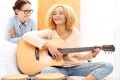 Muzyka przynosi radość zdjęcie royalty free