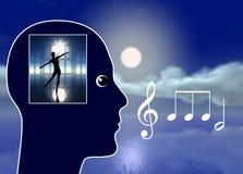 Muzyka Robi Ciebie Marzyć ilustracji