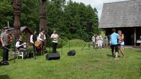 Muzyka tancerza folklor zdjęcie wideo