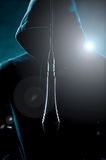 Muzyka w świetle reflektorów Obraz Stock