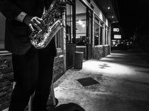 Muzyka w nocy zdjęcia royalty free