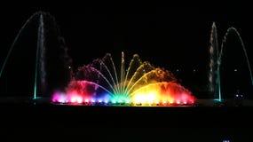 Muzykalna fontanna w Harangi tamie fotografia stock