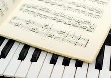 Muzykalna notacja zdjęcie stock