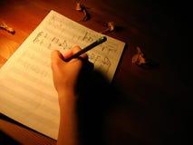 Muzykalna notacja Obraz Royalty Free