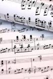 muzykalna notatka Zdjęcia Stock