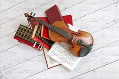 Muzykalna sztuka. Obrazy Stock